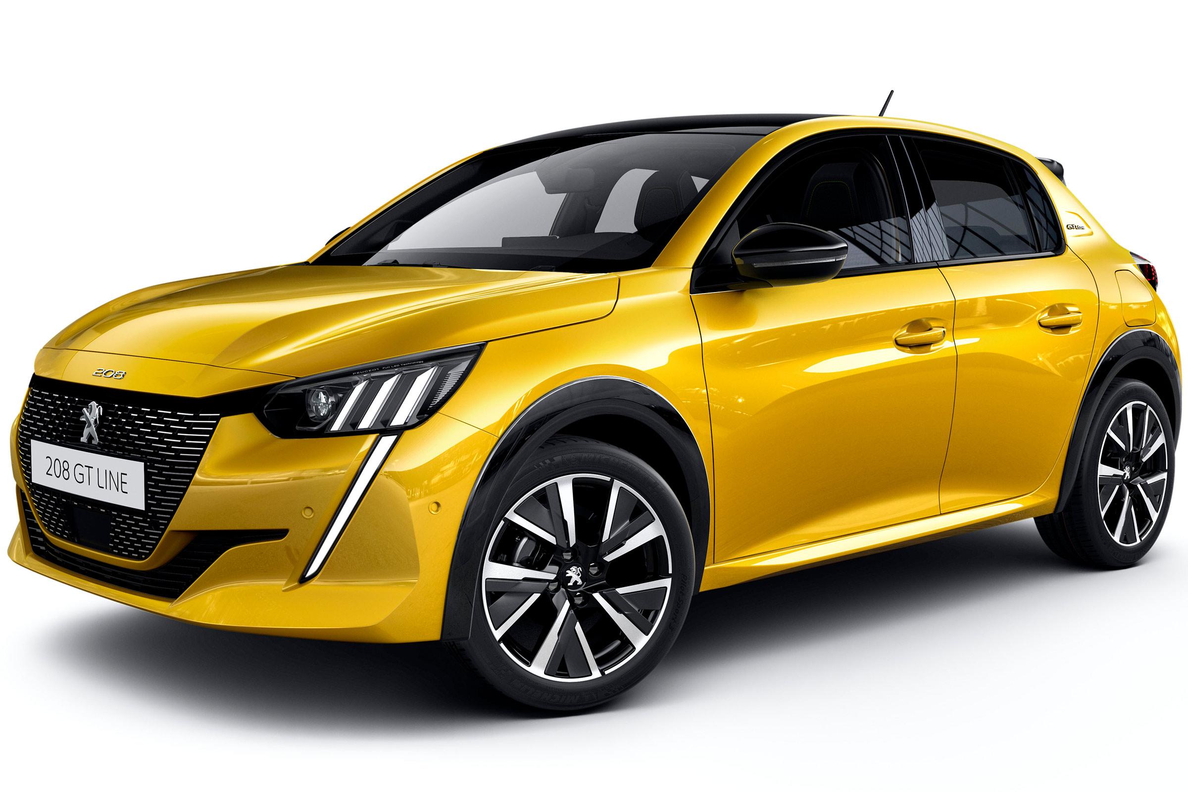 New Peugeot 208 lease